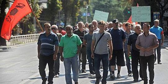 Штрајкот на вработените во Леарница во 2016