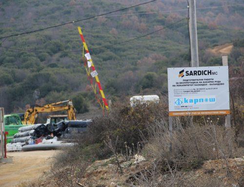 """Договорот за """"Казандол"""" раскинат, продолжува борбата против останатите издадени концесии за изградба на рудници во југоистокот"""