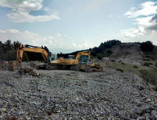 """Багерите го копаат Водно, активистите на """"Го сакам Водно"""" најавија прес конференција, продолжува уништувањето на животната средина за профит"""