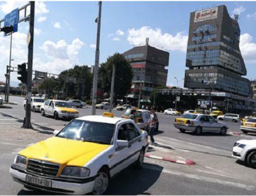 После пазарџиите, на Бит Пазар протестираат и таксистите