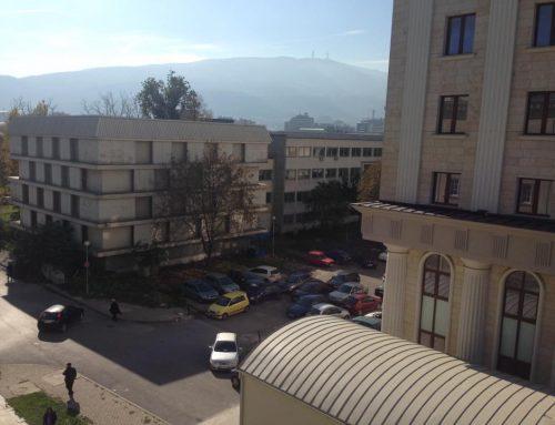 ВМРО почна СДСМ продолжува: Зградата на Државниот Архив се уште се уништува