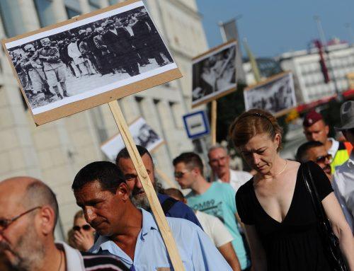 Протестна нота на мрежа на ромски неформални организации од различни делови на Европа