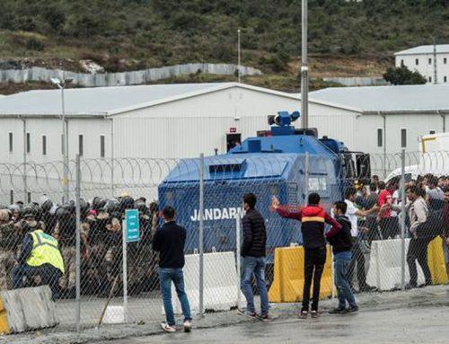 Полицијата во Истанбул приведе 543 градежни работници кои штрајкуваа за своите ускратени права, инвеститорот ги нарече терористи