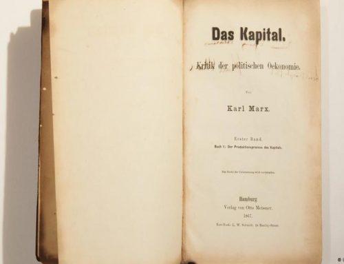 """151 годинa од објавувањето на првиот том на """"Капиталот"""" на Карл Маркс"""