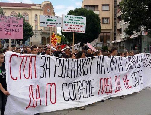 """""""Здрава Котлина"""": сите на Блокада против рудникот на смртта"""