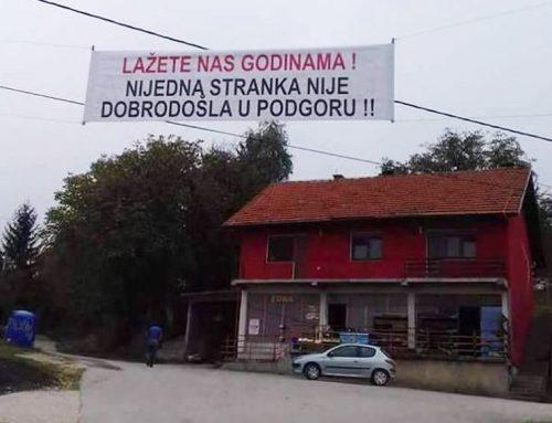 """Жители од босанско село до политичарите: """"лажете со години, не сте добредојдени"""""""
