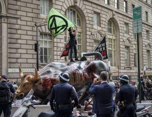 """Ова не е дрил: 700+ уапсени при борбата на """"Бунтот на изумирањето"""" против климатската криза преку директна акција"""