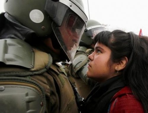 (С.Ц. Дуња) Протестите во Чиле