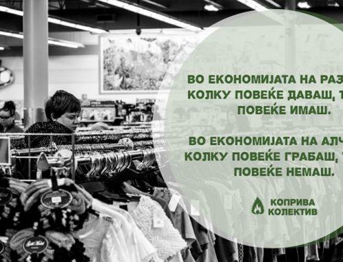 (Коприва колектив) Размена на книги и облека во С.Ц. Дуња