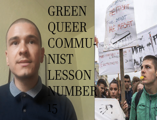 Green Queer Communist Lesson Number 15