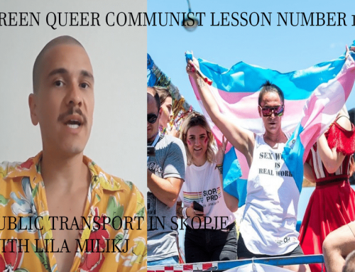 Green Queer Communist Lesson Number 19