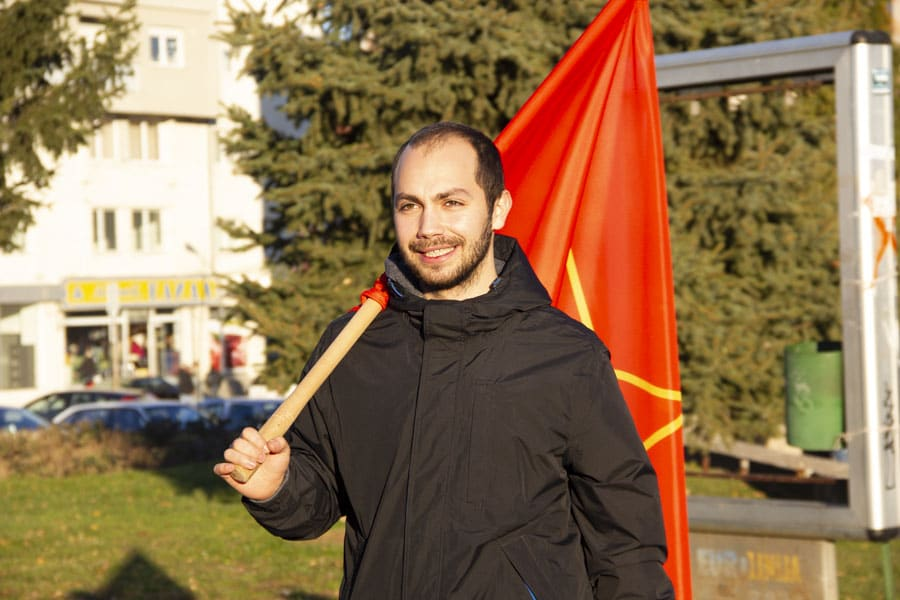 Дијалог со Петар Чуриќ по повод Меѓународниот ден на работникот – 1 Мај.